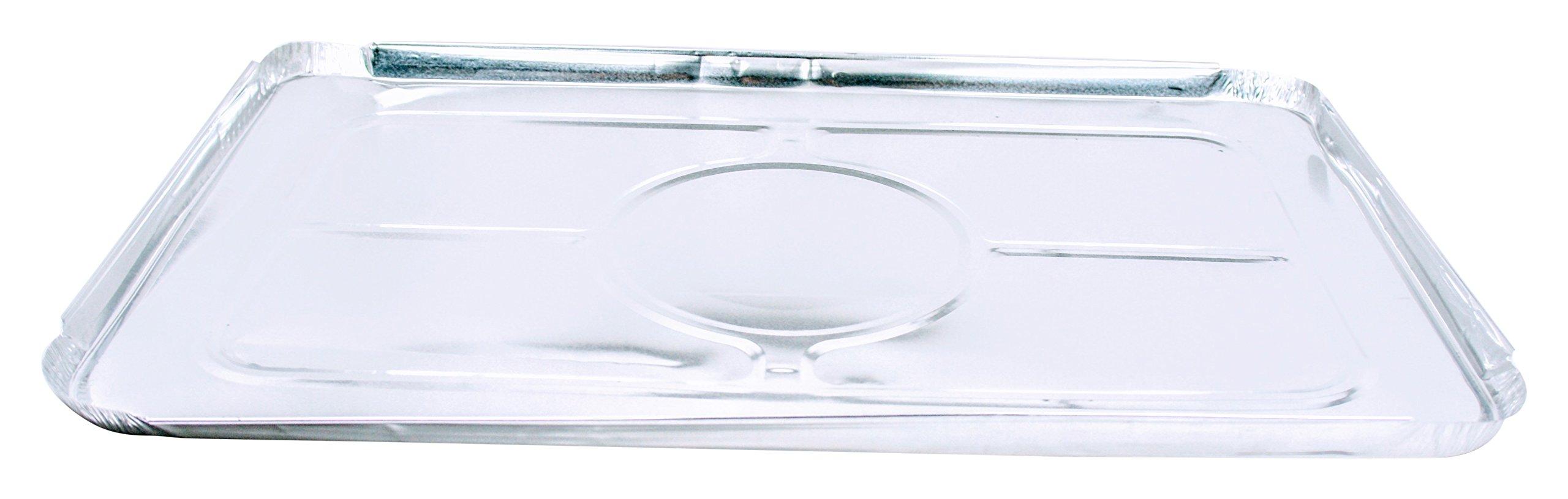Dowell Foil Lid for Full Size Steam Table Pan - 50/Cs