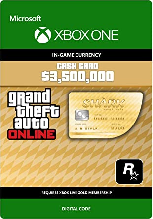 GTA V Whale Shark Cash Card | 3500000 GTA-Dollars | Xbox One