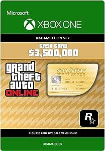 Grand Theft Auto Online - GTA V Whale Shark Cash Card   3,500,000 ...