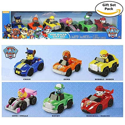Paw Patrol - Paw Racer Gift Set (Pack of 6 Vehicles)  Amazon.ca  Toys    Games 9cde31740963