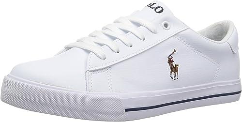 Polo Ralph Lauren - Easton II Niños, Unisex, Blanco (White Tumbled ...