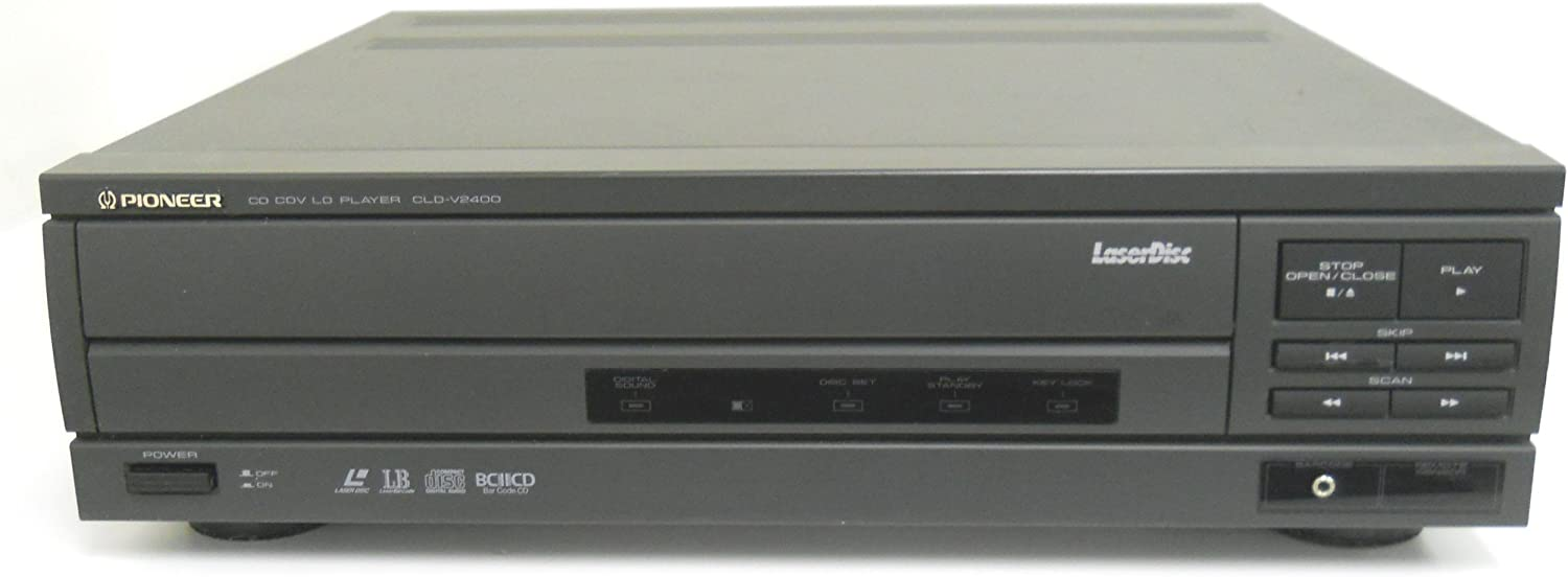 Pioneer LaserDisc CD CDV LD Player CLD-V2400 Commercial Audio Video