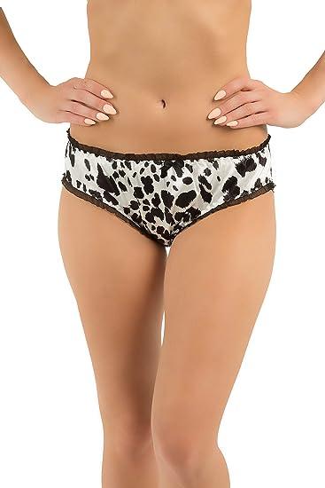 Blush Pink Satin String Bikini Panties Tanga Knickers UK 10 S