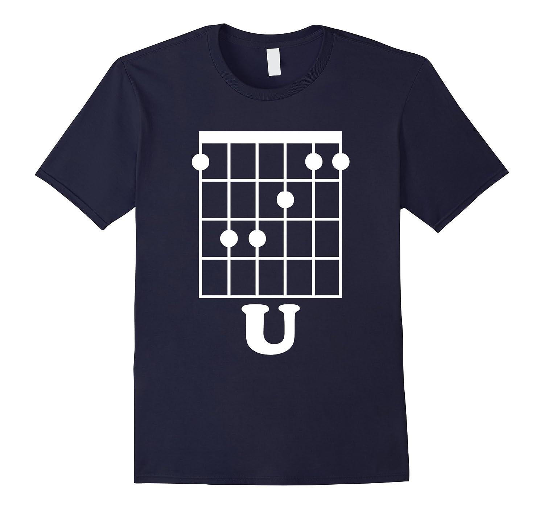 Fun Guitar T Shirt F Chord U Funny Guitarist Gift Td Theteejob
