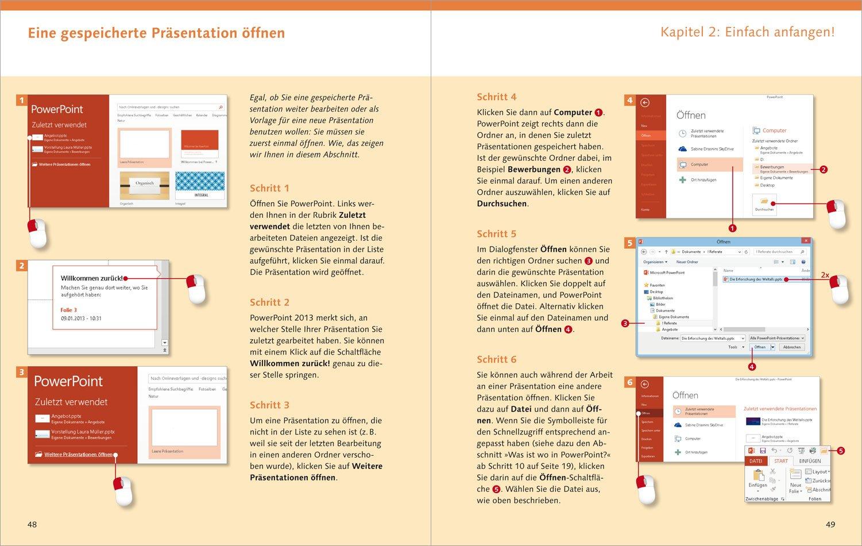 PowerPoint 2013: Die Anleitung in Bildern: Amazon.de: Sabine Drasnin ...