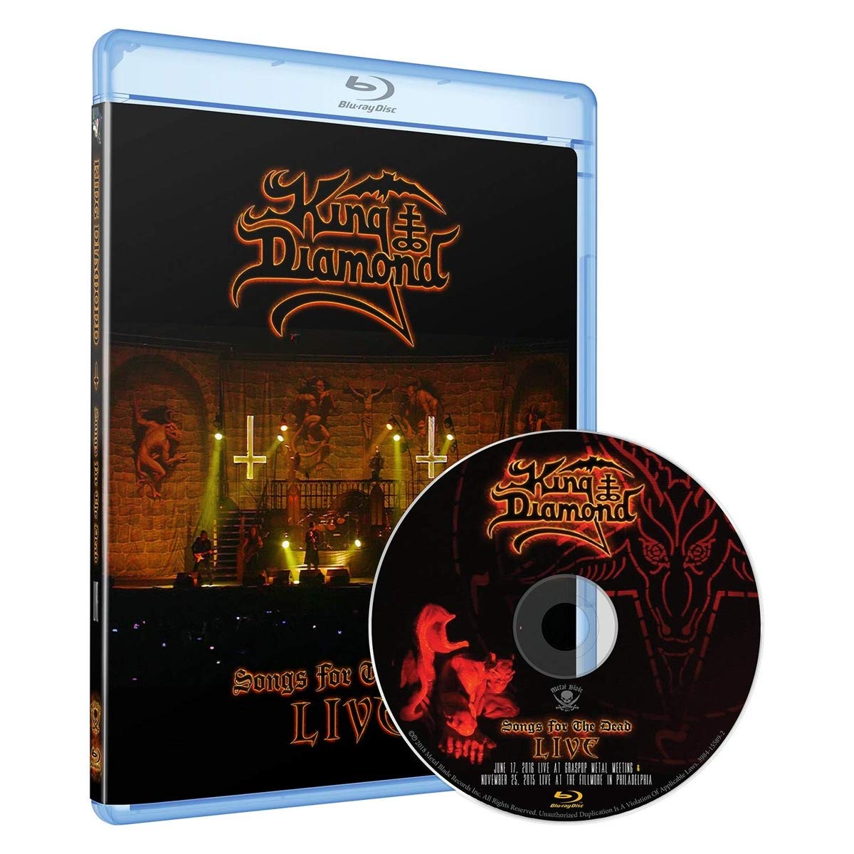 Blu-ray : King Diamond - Songs For The Dead Live
