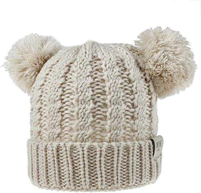 Babies knitted double pom pom winter pull on hat Newborn to 2 years girls /& boys