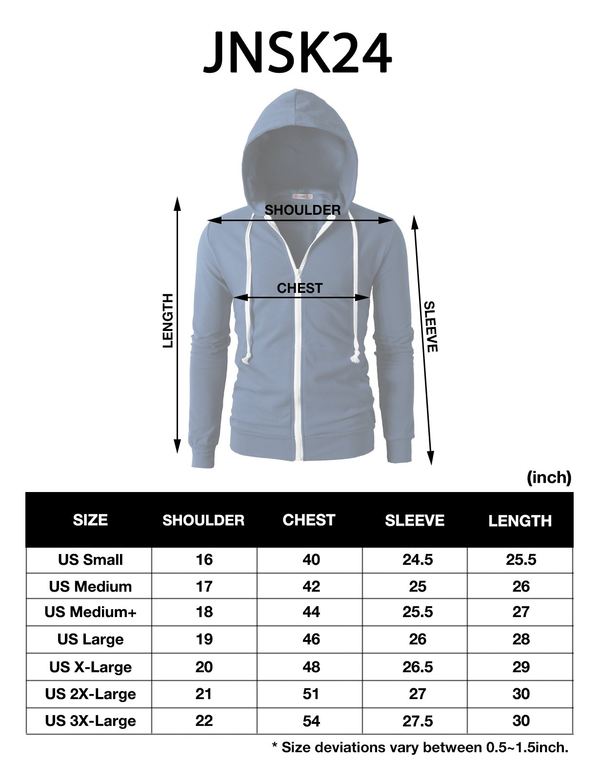 H2H Men's Casual Striped Drawstring Hooded And Zipper Closure Hoodies FORESTGREEN US XL/Asia XXXL (JNSK24) by H2H (Image #6)