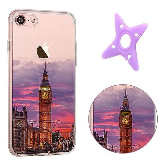 2 opinioni per iPhone 7 Cover, MAOOY Bellissimo Paesaggio Modello Design Case per iPhone 7,