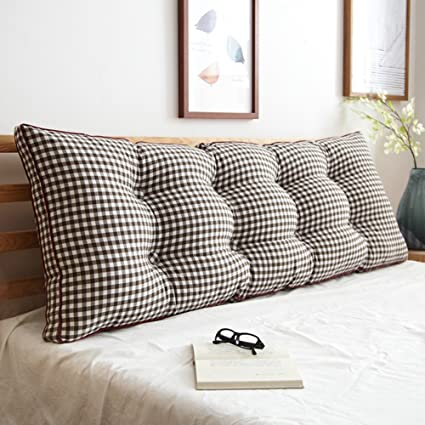 Amazon.com: ZEMIN Cushion Pillow Cotton Headboard Sofa Bed ...