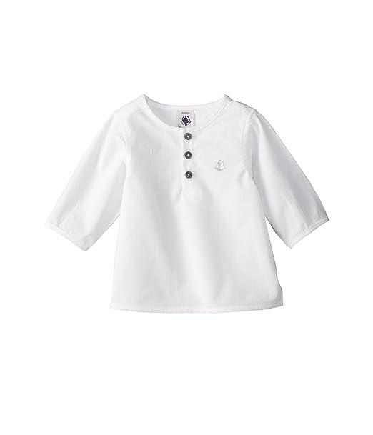 7a611b21f Petit Bateau - Camisa con cuello barco de manga larga para bebé  Amazon.es   Ropa y accesorios