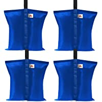 ABCCANOPY Weights Bag Leg Weights for Pop up Canopy Tent, Patio Umbrella, Outdoor Furniture, Blue