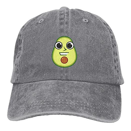 aad78c8e35c77 Amazon.com  Michgton Funny Avocado Icon Unisex Cute Adjustable Baseball Cap  Dad Hat  Clothing