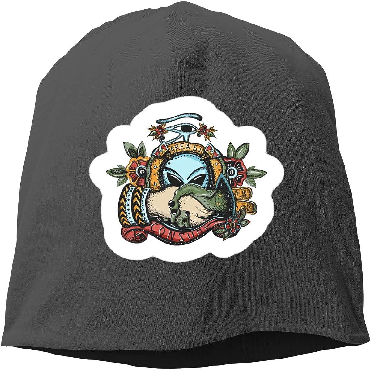 Storm Area 51 Skull Cap Helmet Liner Beanie Cap for Men Hip Hop Hedging Head Hat