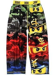 8fa59df341 LEGO Ninjago Boys Flannel Lounge Pajama Pants (Little Kid/Big Kid)