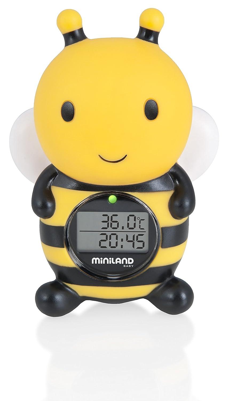 MINILAND - Thermométre de bain bébé Abeille 14-42-003