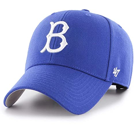 Amazon.com    47 Authentic Brooklyn Dodgers Cooperstown Blue MLB ... e282d749494e
