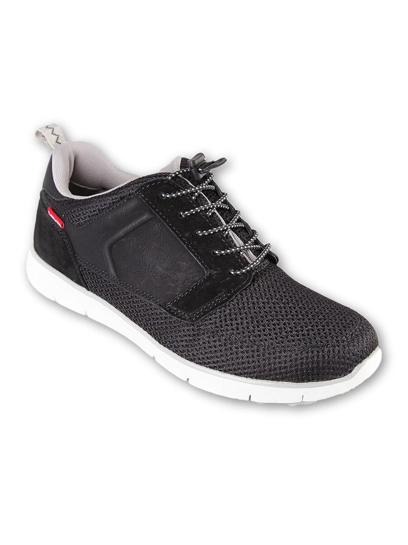 Levi's Zapatillas de Material Sintético Para Hombre Negro Negro 42 EU