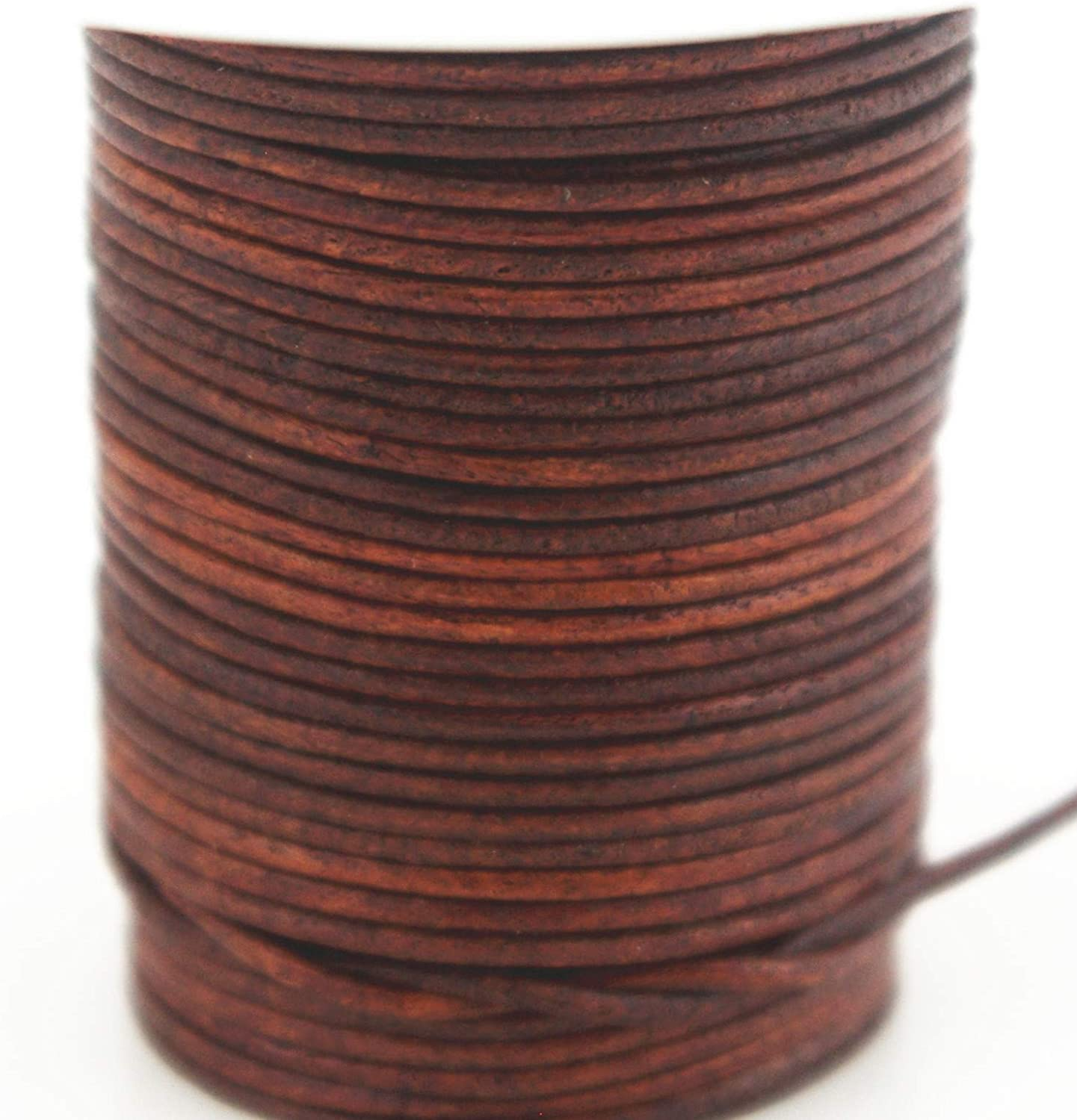 Black 1.5mm 10 Yards Glory Qin Soft Round Genuine Jewelry Leather Cord Leather Rope