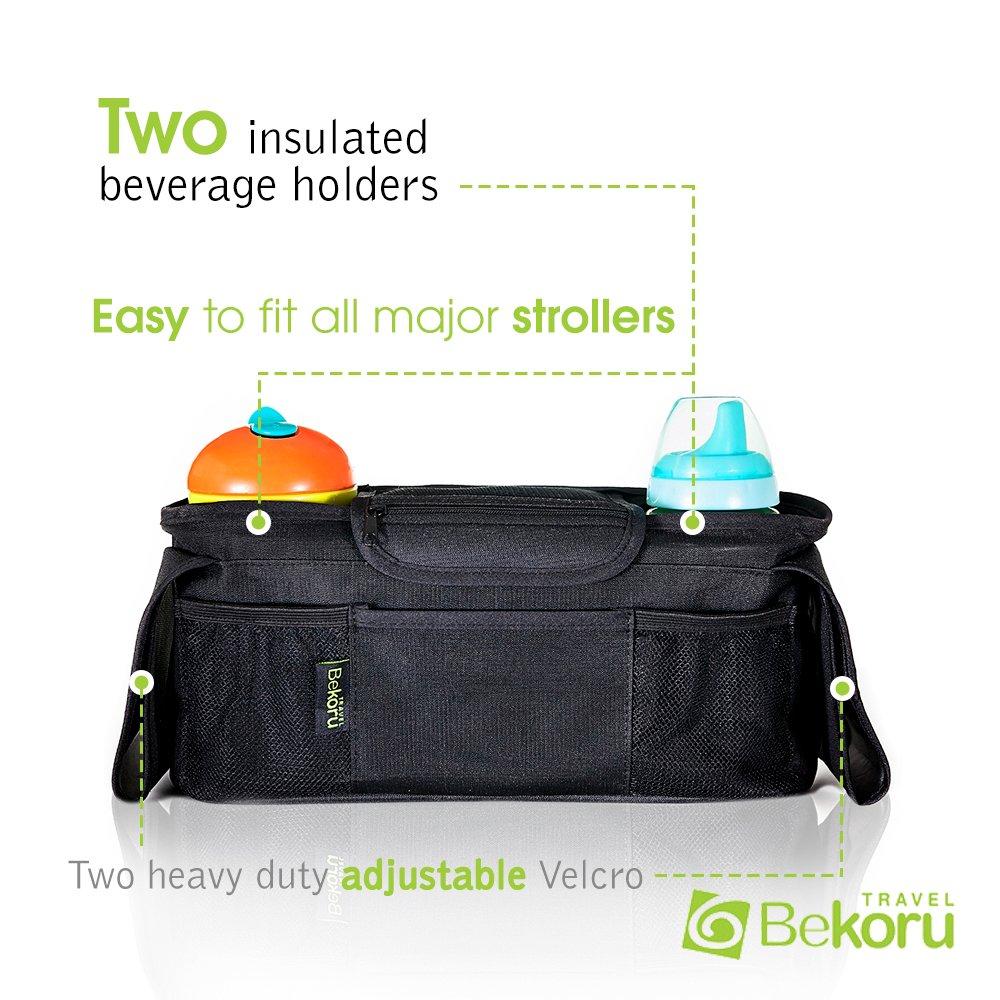 Amazon.com : Stroller Organizer / Stroller Cup Holder With Bonus ...