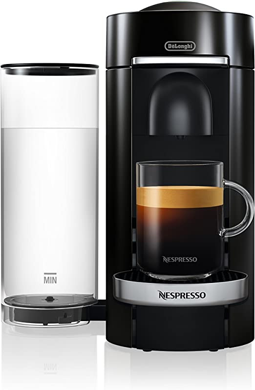 Nespresso by DeLonghi ENV155B VertuoPlus Deluxe Coffee and Espresso Machine by DeLonghi, Black