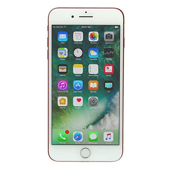 Apple iPhone 7 Plus 128GB Unlocked GSM 4G LTE Phone - Red (Renewed)