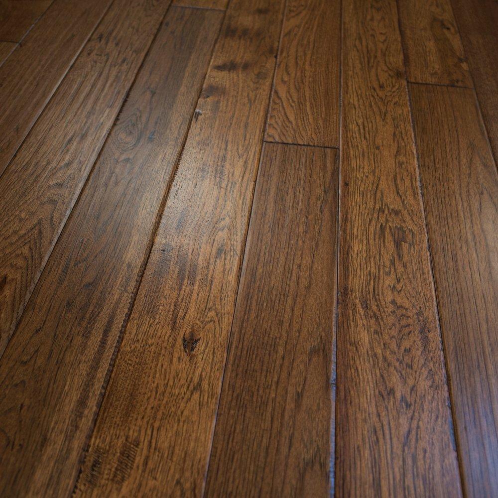 Prefinished hickory hardwood flooring taraba home review for Prefinished timber flooring