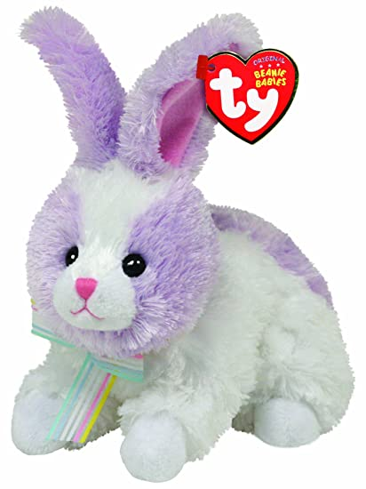 dcf9353b2f7 Image Unavailable. Image not available for. Color  Ty Beanie Babies Sherbet  Lilac Bunny