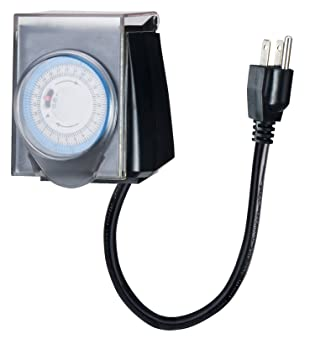 Outdoor Minute Electric Digital Christmas Lights Timer with ...