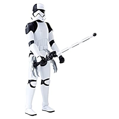 Sister Novelties Star Wars The Last Jedi 12-inch First Order Stormtrooper Executioner Figure Toy: Toys & Games