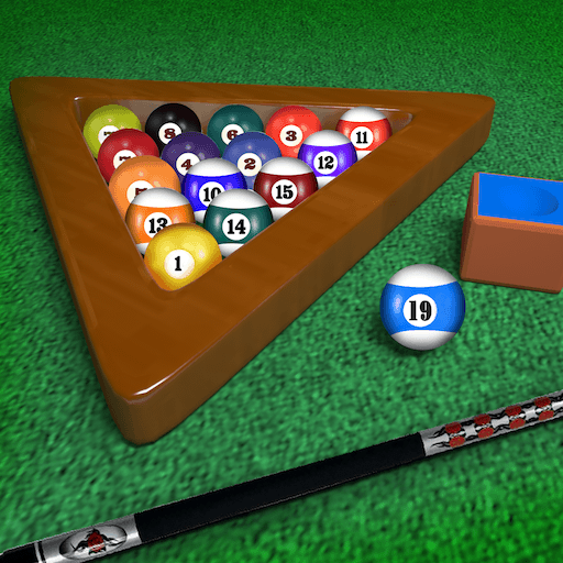 Tournament Black Table - Billiards Pool Table Unlimited 8-ball Tournament : Hit the black ball - Free Edition