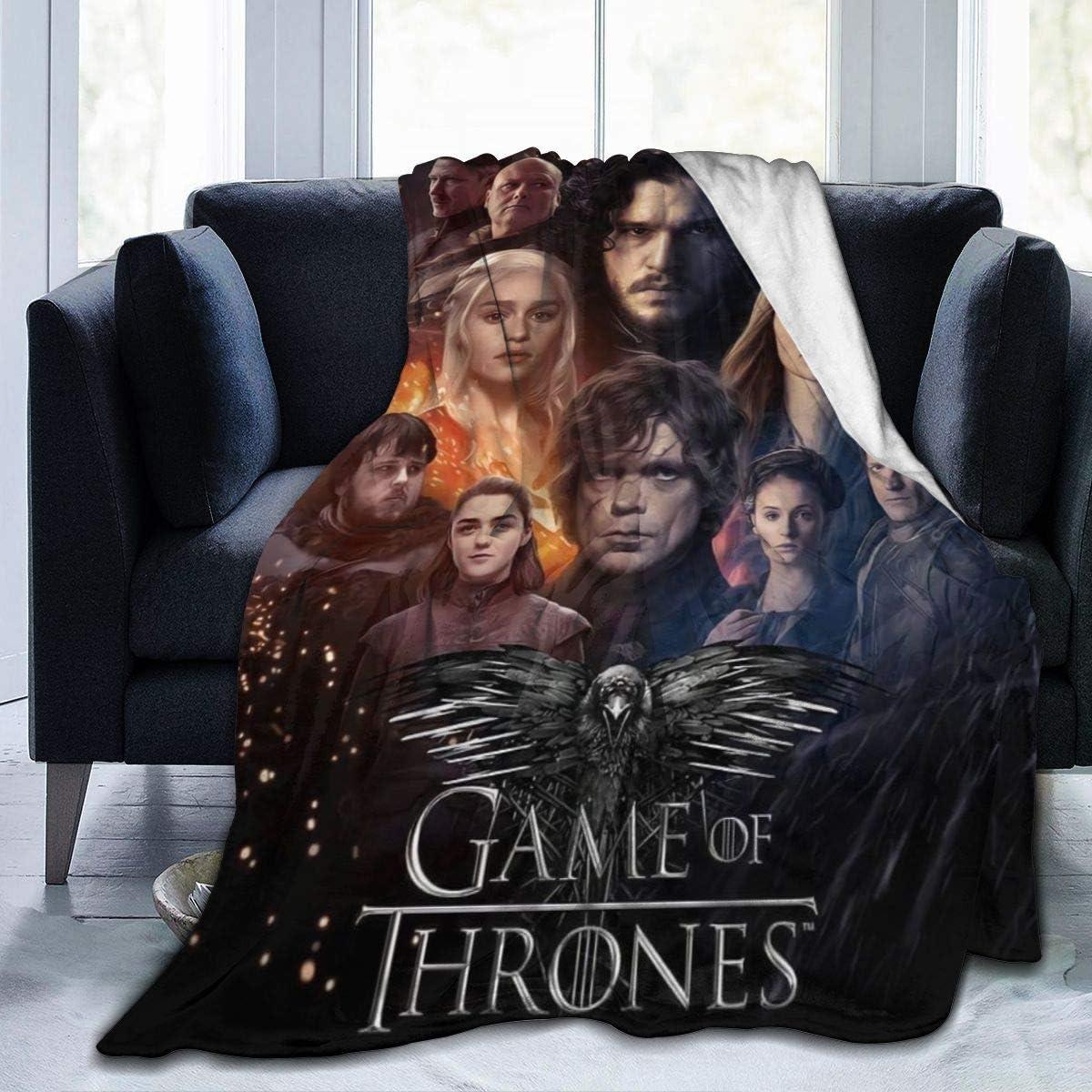 Game of-Thrones Decorative Bedspread Throw Blanket