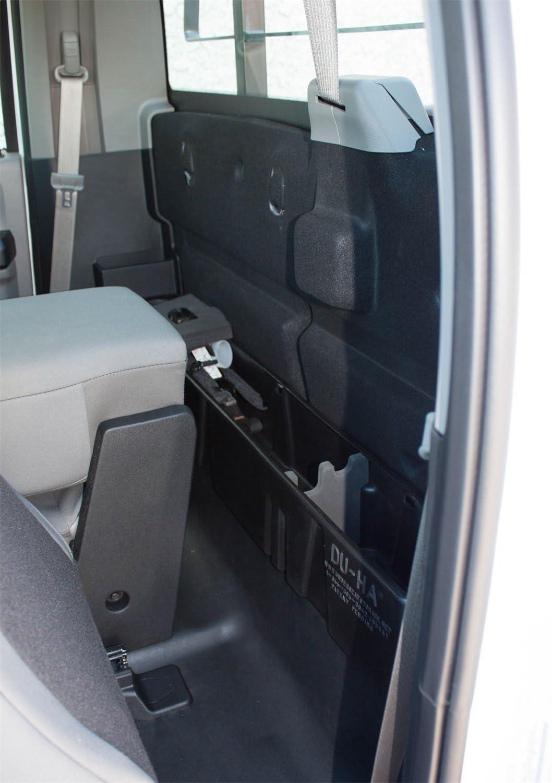 DU-HA 20114 Black Behind-The-Seat Truck Storage