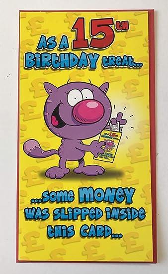 Amazon.com: No me olvides 15 años de edad Funny chiste Humor ...