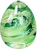 Caithness Glass Piece Crystal Blessings Paperweight, Green