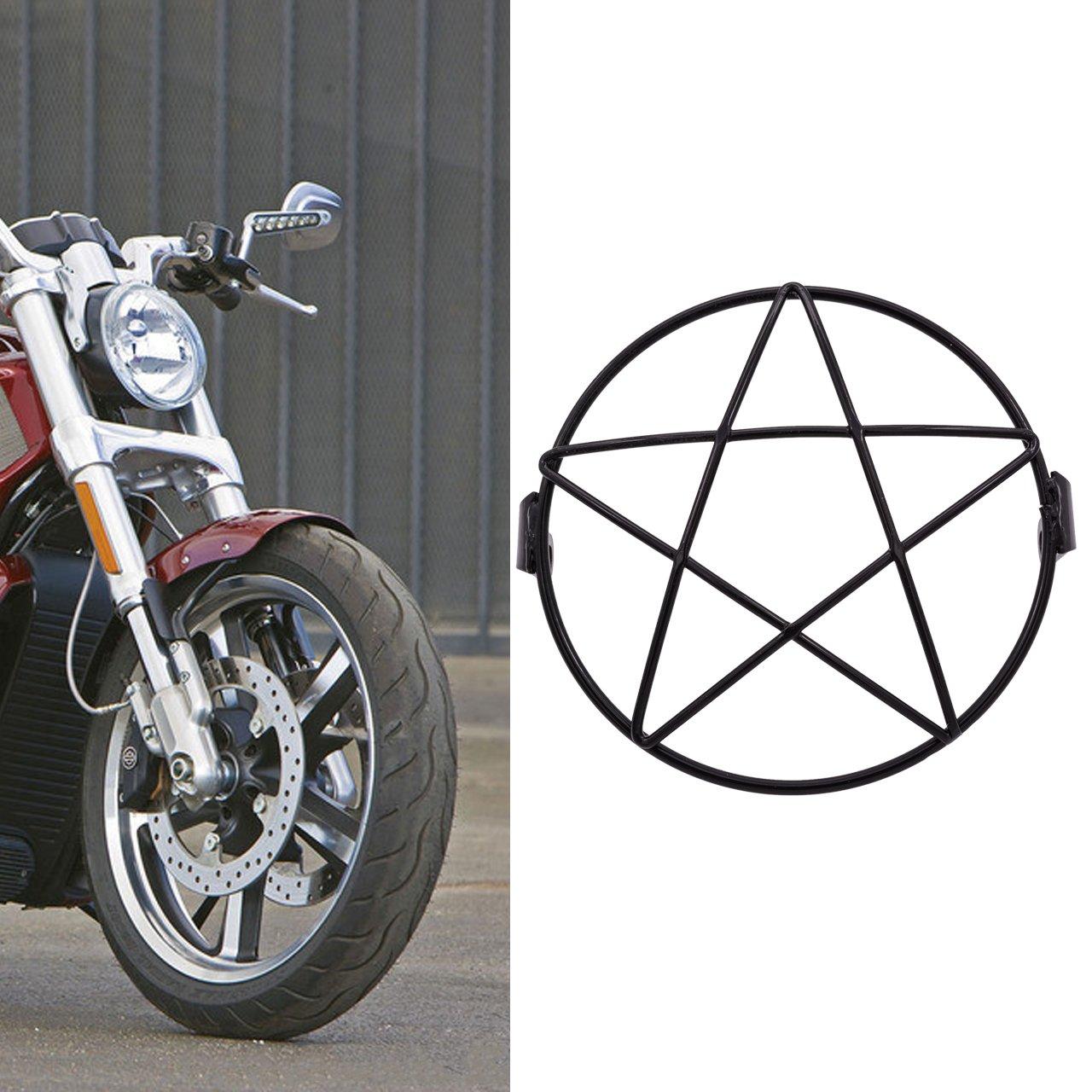 Grille de protection de 16/cm en m/étal pour phare de moto Katur