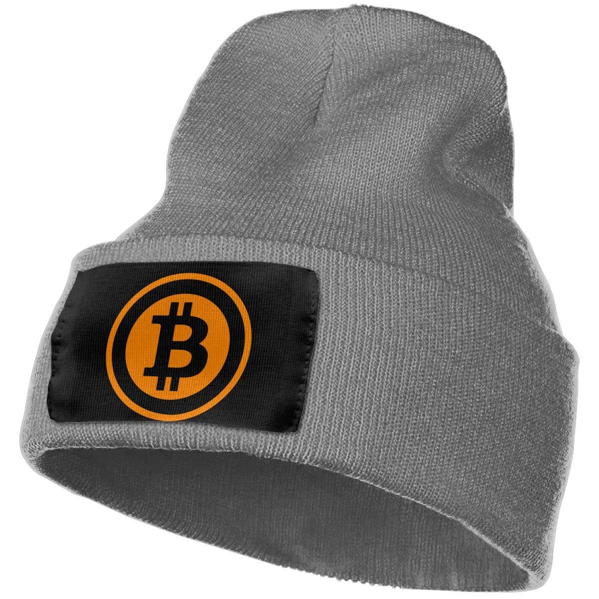 Warm Winter Hat Knit Beanie Skull Cap Cuff Beanie Hat Winter Hats for Men /& Women SLADDD1 Bitcoin 2