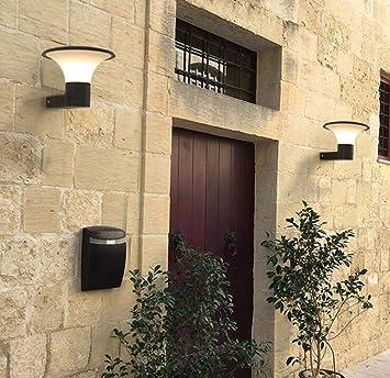 Mkjbd Linterna de Pared Lámpara de Jardín Lámpara de Pared Lámpara de Pared Moderna Lámparas de Exterior Lámparas de Pared Lámparas de Pared Creativas Simples Linterna de Jardín Pantalla de Pc Blanca: