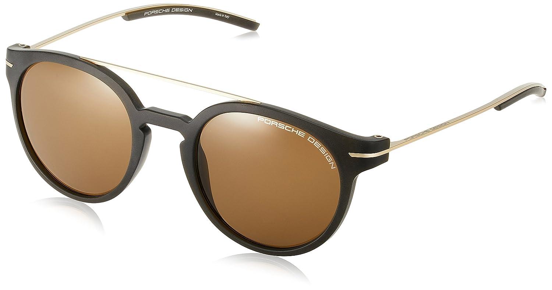 [ポルシェデザイン] PORSCHE DESIGN メガネ メンズ P8644 B071F6DX63 日本 50 (FREE サイズ)|ブラウン ブラウン 日本 50 (FREE サイズ)