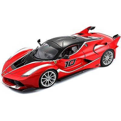 Ferrari Bburago B18-16010 FXX-K Diecast Model Kit, Red, 1:18 Scale: Toys & Games [5Bkhe0402217]