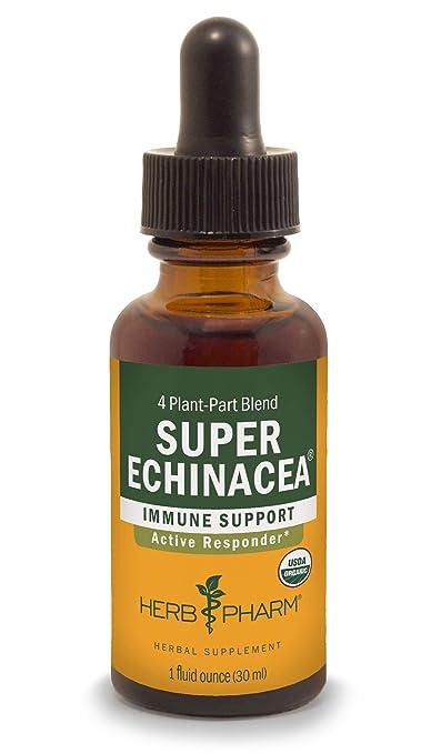 Herb Pharm Certified Organic Super Echinacea Liquid Extract