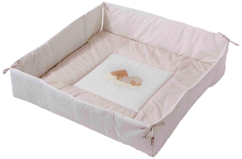 Easy Baby 470-83 - Colchón para parque infantil (100 x 100 cm)