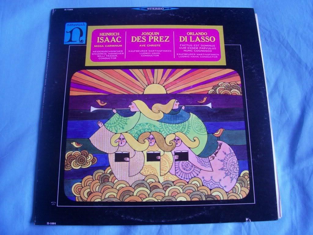 H 71084 De Prez/Di Lasso/Isaac Works Ludwig Haan LP: Ludwig ...