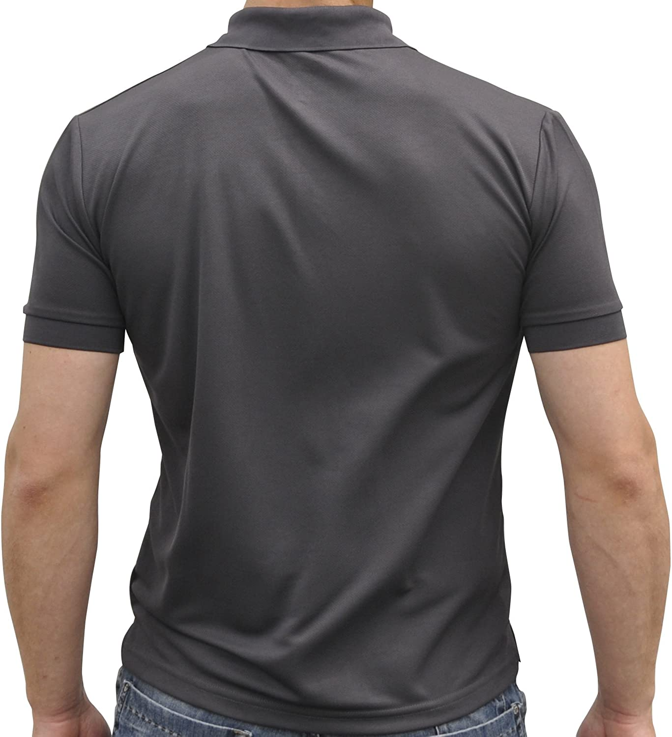 iQ-Company Travel UV25+ - Polo para Hombre, tamaño XL, Color Gris ...