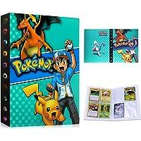Album Pokemon, Álbum de Cartas Pokémon, Álbum Titular de Tarjetas Pokémon Carpeta Carpeta Libro 30 páginas 240 Tarjetas…