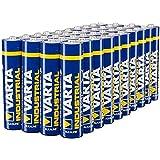 Varta Industrial Batterie AAA Micro Alkaline Batterien LR03-40er pack, Made in Germany