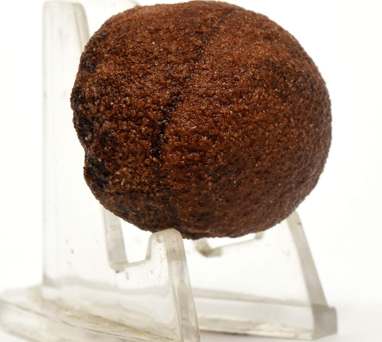 32mm Moqui Ball Natural Shaman//Thunder Stone Orb Unpolished Gemstone Crystal Mineral Specimen Utah