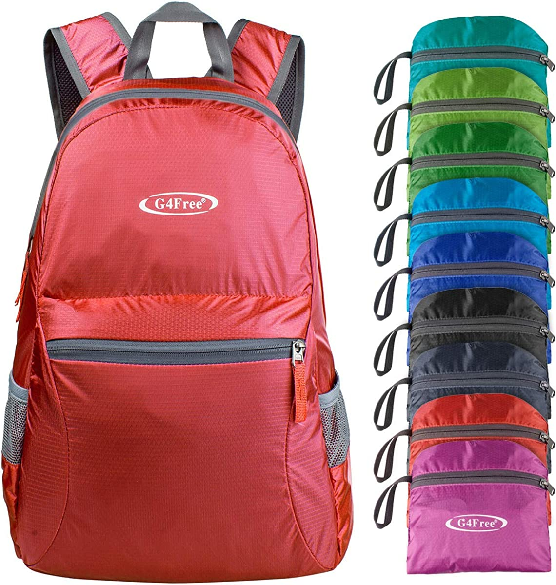 G4Free Ultra Lightweight Packable Backpack Travel Hiking Daypack Handy Foldable Water Resistant Camping Outdoor Backpack