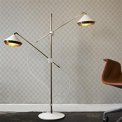 Leohome Post - Lámpara de pie de diseño moderno, color ...