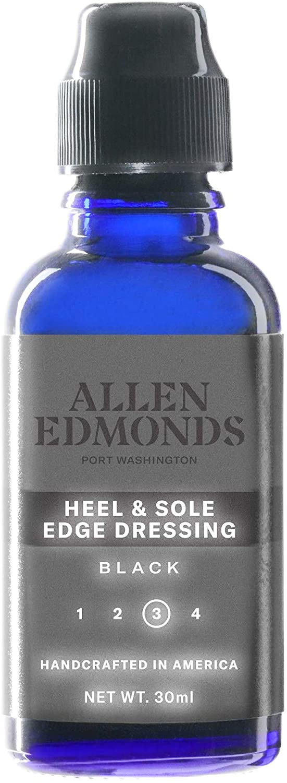Allen Edmonds Men's Heel Dressing Shoe Care Product, Black, One Size 0X US: Shoes